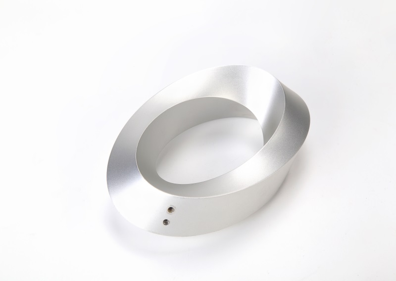 Complex ring made by CNC milling process