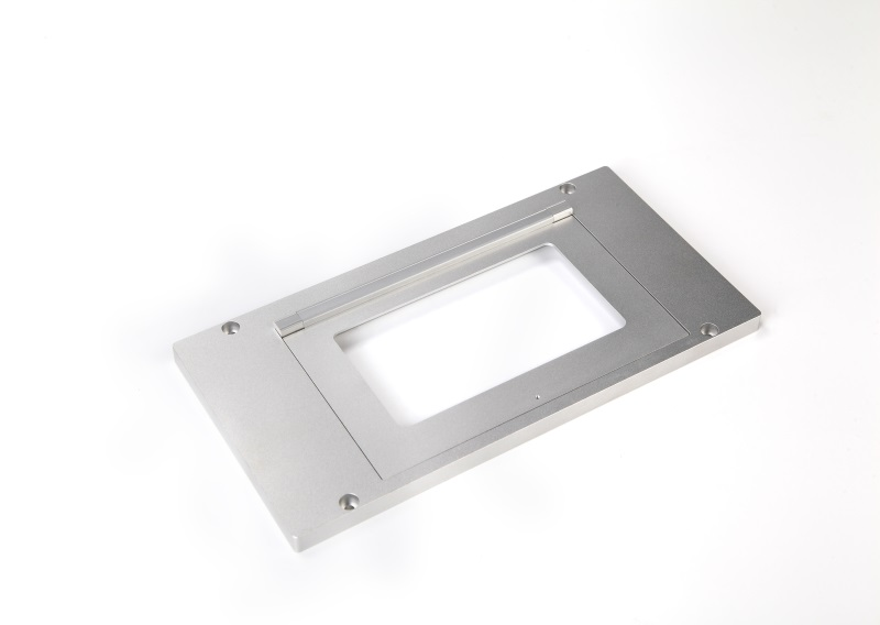 High precision CNC machining plate with assembly