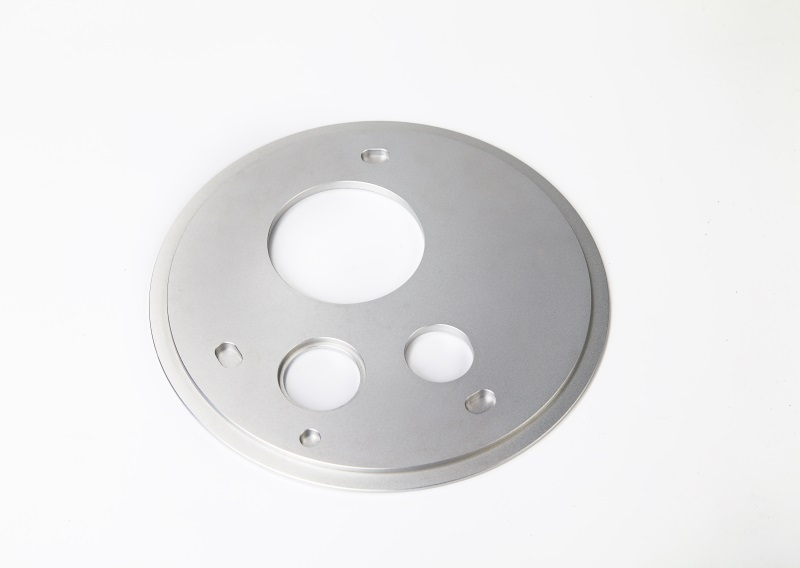High precision CNC machining plate with  anodizing