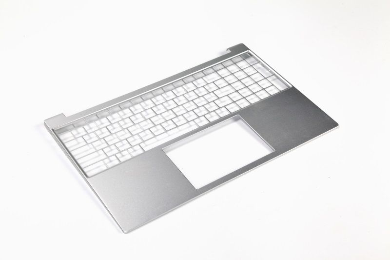 Aluminum keyboard plate for notebook