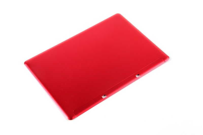 Aluminum back panel for notebook