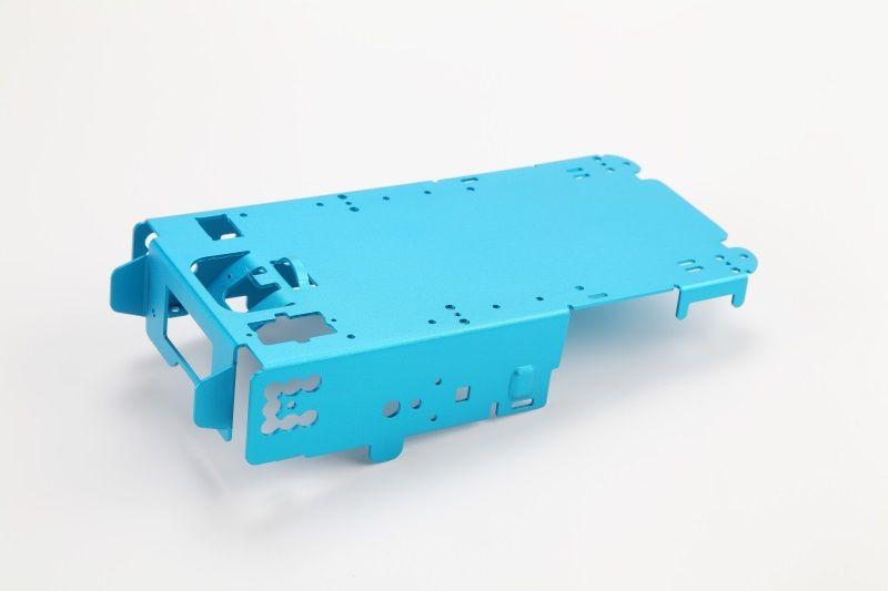Aluminum stamping sheel for projector