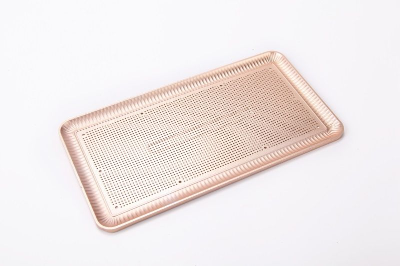 Aluminum plate for keyboard
