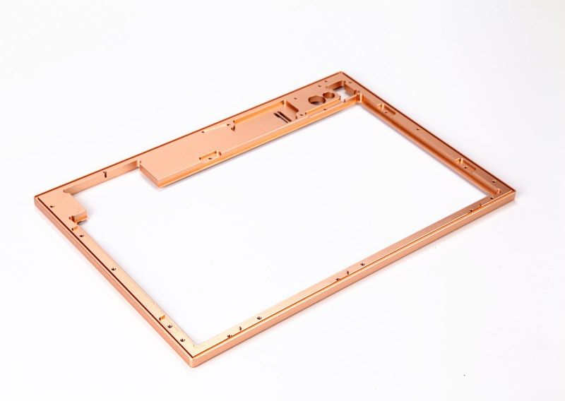 High precision aluminum frame for notebook