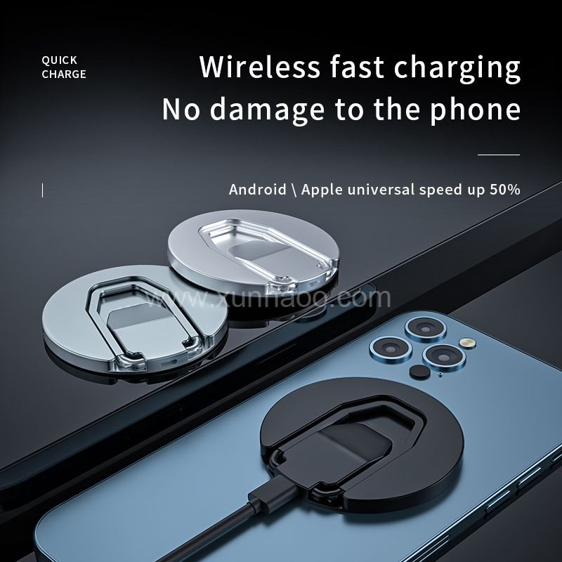 Magsafe wireless charger with mobile phone holder function