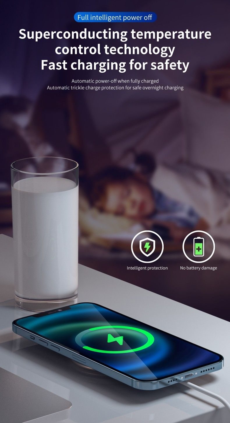 fMagsafe wireless charger with mobile phone holder function